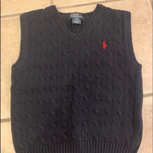 PRL sweater vest